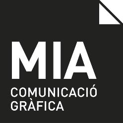 Logotip Mia Comunicació gràfica